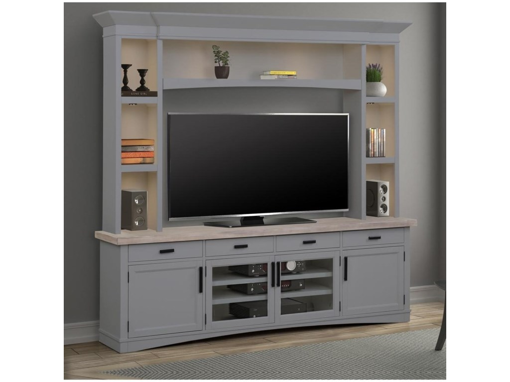 Parker House Americana ModernEntertainment Wall Unit