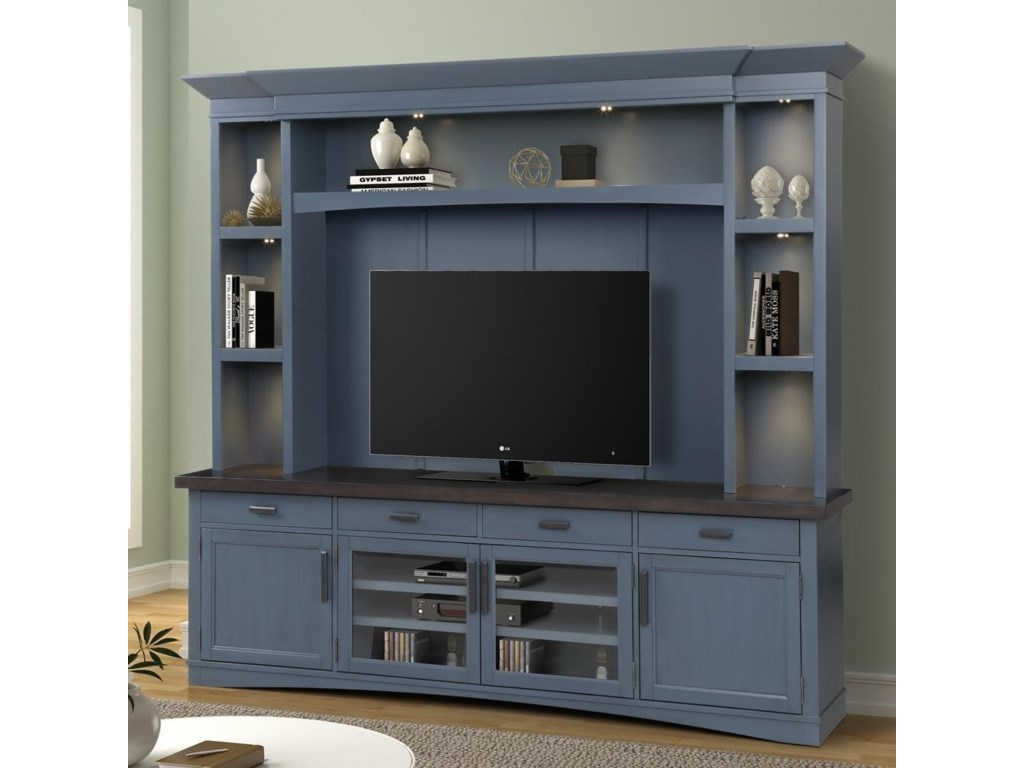 Paramount Furniture Americana ModernEntertainment Wall Unit
