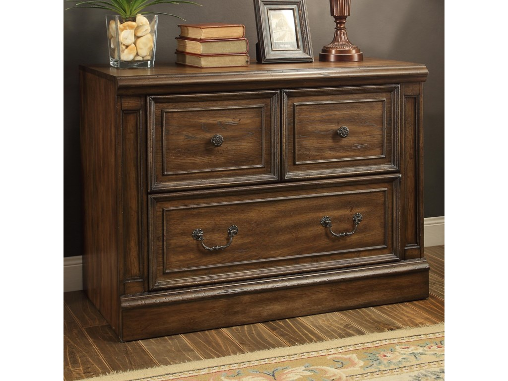Parker House Aria LibraryLibrary 2 Drawer Lateral File