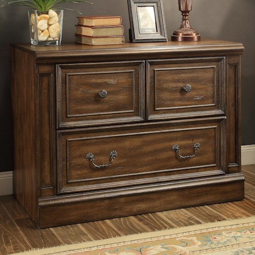 Parker House Aria Library Library 2 Drawer Lateral File
