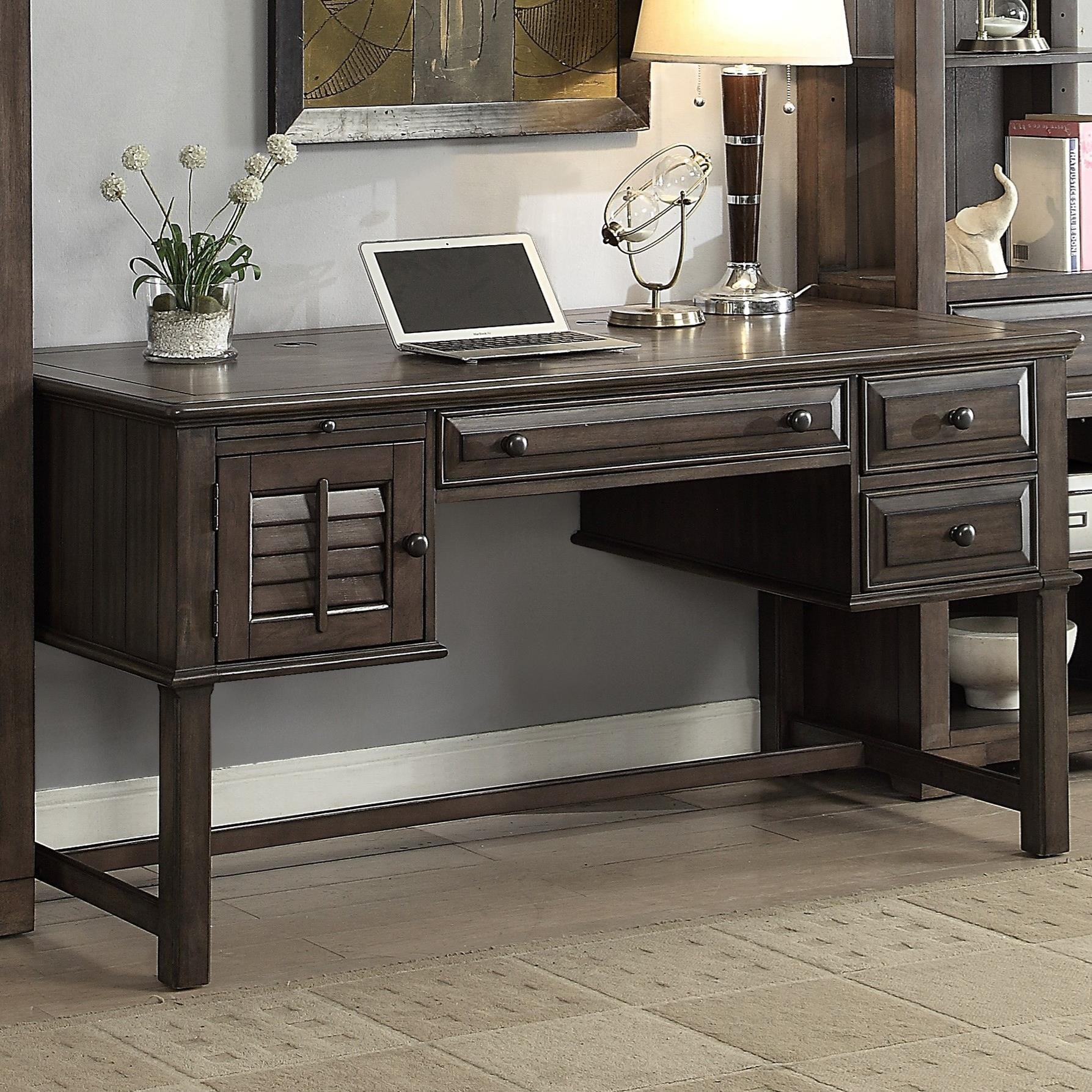 Parker House Austin Writing Desk With Louvered Door