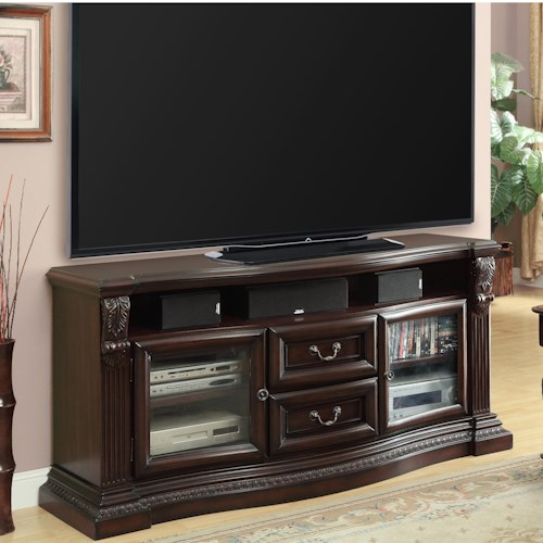 Parker House Bella Collection TV Console with 2 Drawers and 2 Doors