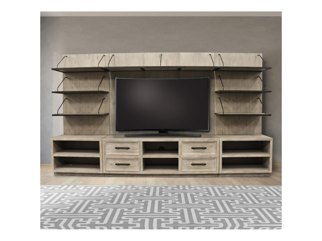 Parker House BillboardEntertainment Wall Unit