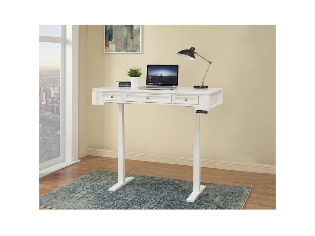 Paramount Furniture Boca57in. Power Lift Desk