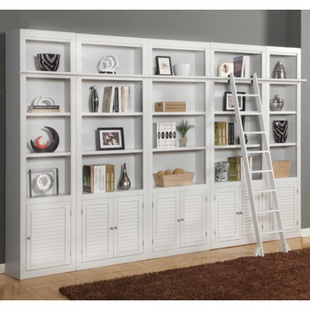 Expanded Library Wall Unit