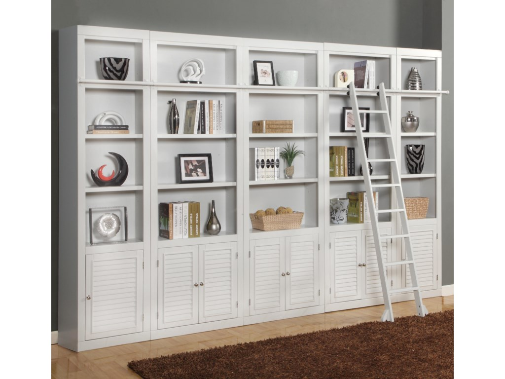 Parker House BocaExpanded Library Wall Unit
