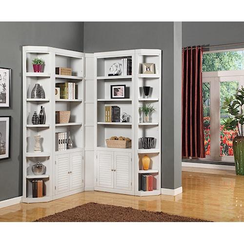 Parker House Boca Corner Bookcase Unit