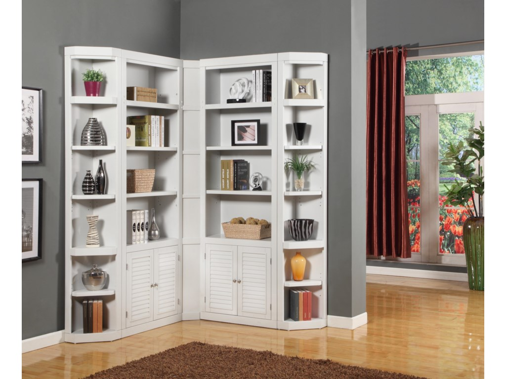 Paramount Furniture BocaCorner Bookcase Unit