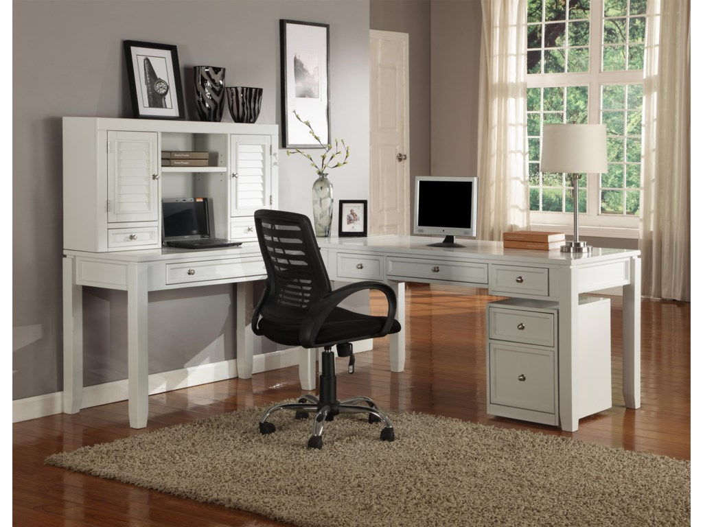 Parker House BocaThree-Piece L-Shaped Desk