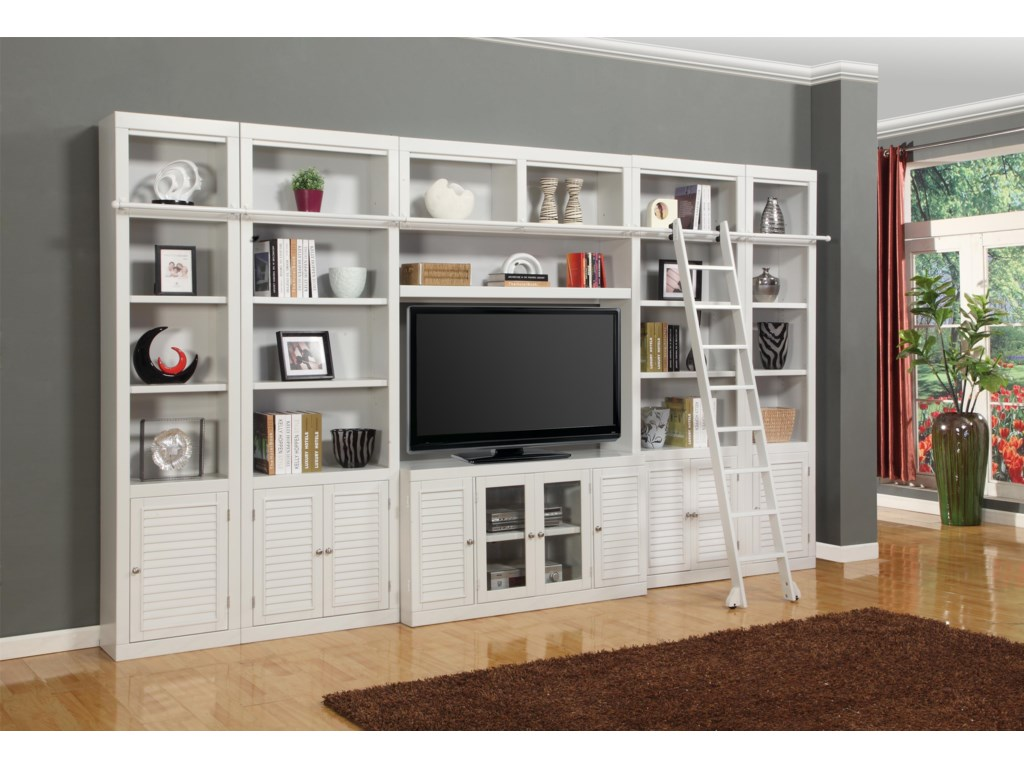 Parker House BocaSix-Piece Entertainment Center Bookcase