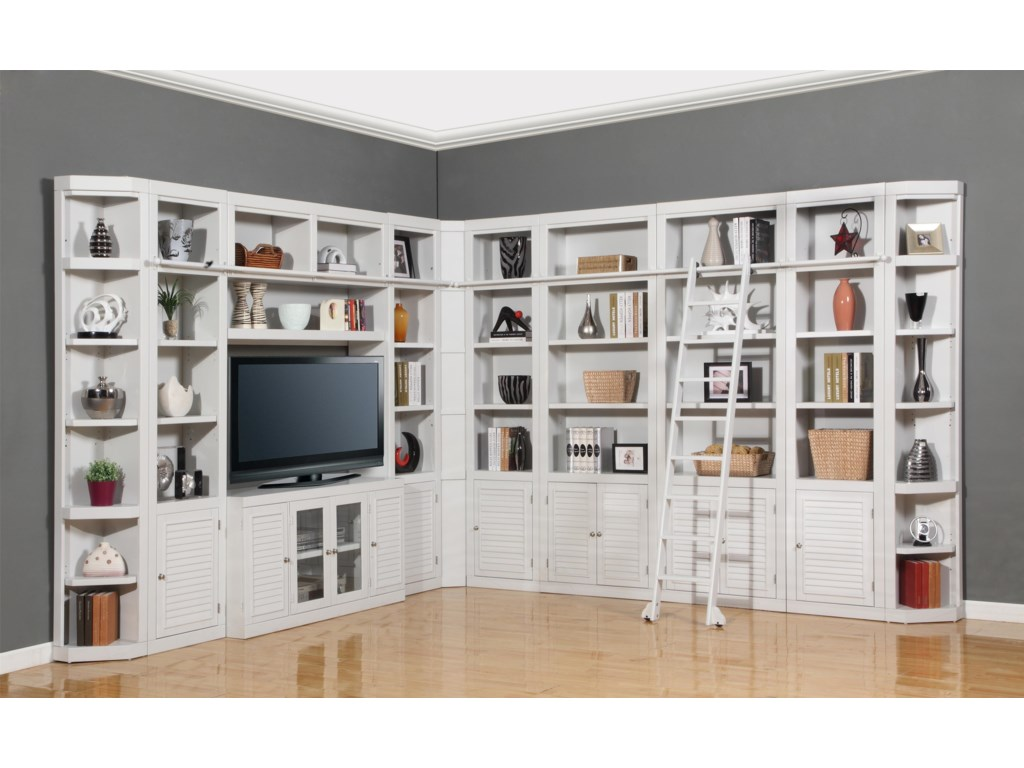 Parker House BocaFour-Piece Entertainment Center Bookcase