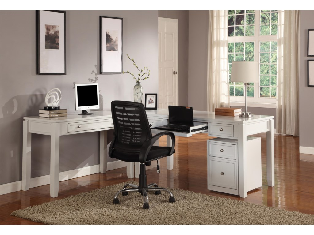 Shown with Corner Table and Two Writing Desks