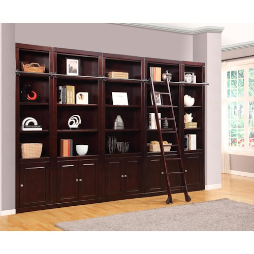 Parker House Boston Expanded Library Wall Unit