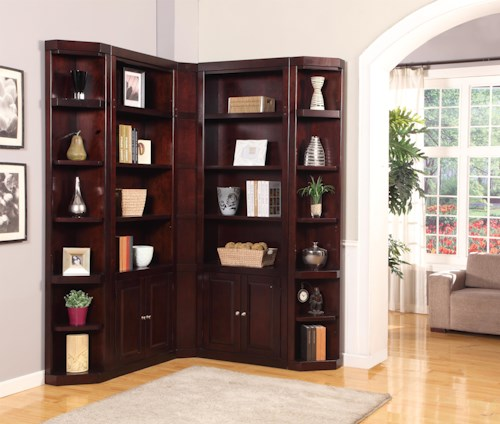 Parker House Boston Corner Bookcase Unit