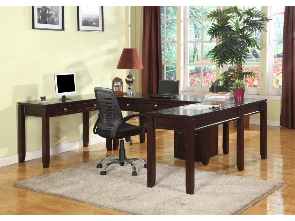 Shown with Additional Writing Desk and Corner Table