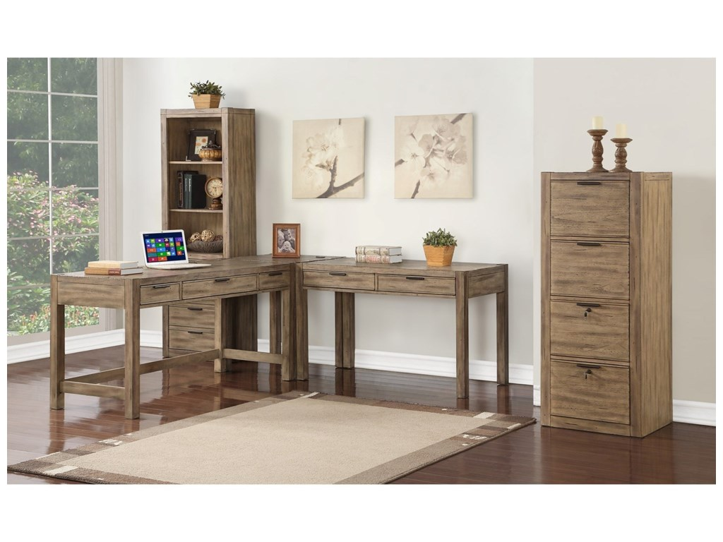 Parker House Brighton3 Pc L-Shaped Desk