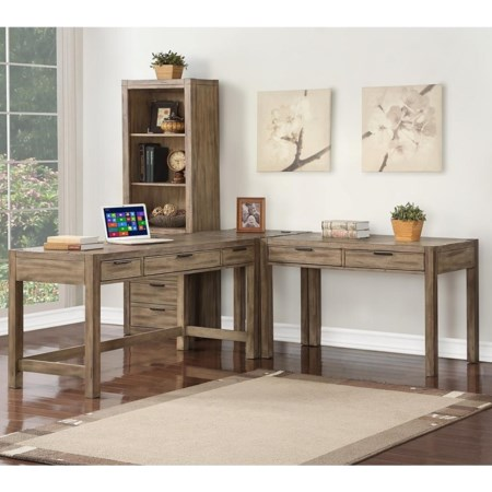 3 Pc L-Shaped Desk