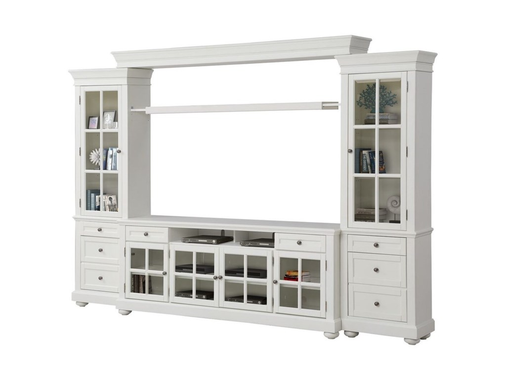 Parker House Cape Cod3 Piece Entertainment Wall