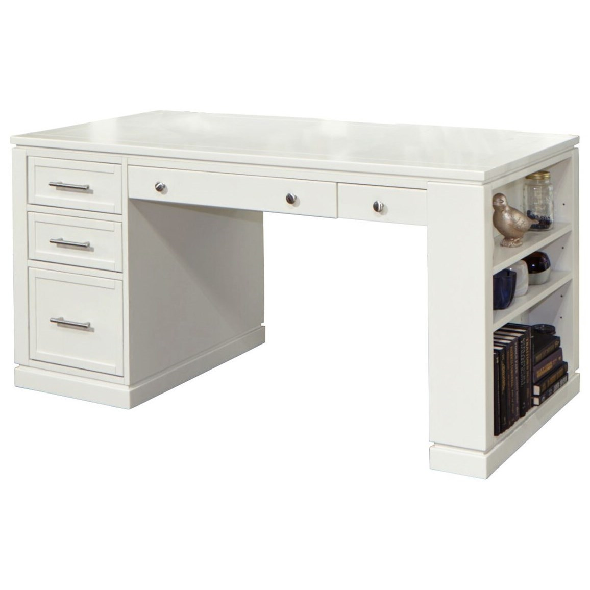 """60"""" Writing Desk with Power Center"""