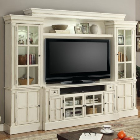 "Hathaway 62"" Console Entertainment Center"