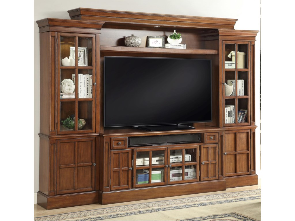 Parker House Hathaway4 Piece Entertainment Wall