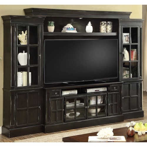 Parker House Concord 4 Piece Entertainment Wall with 62