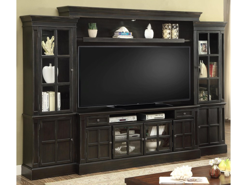 Parker House Concord4 Piece Entertainment Wall