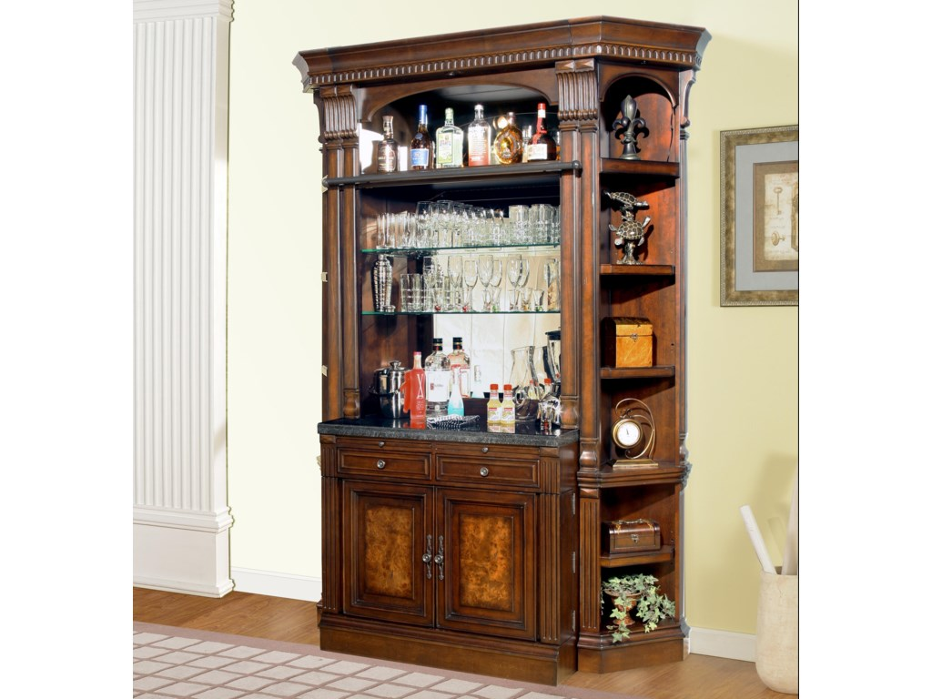 Parker House CorsicaBar Base and Hutch