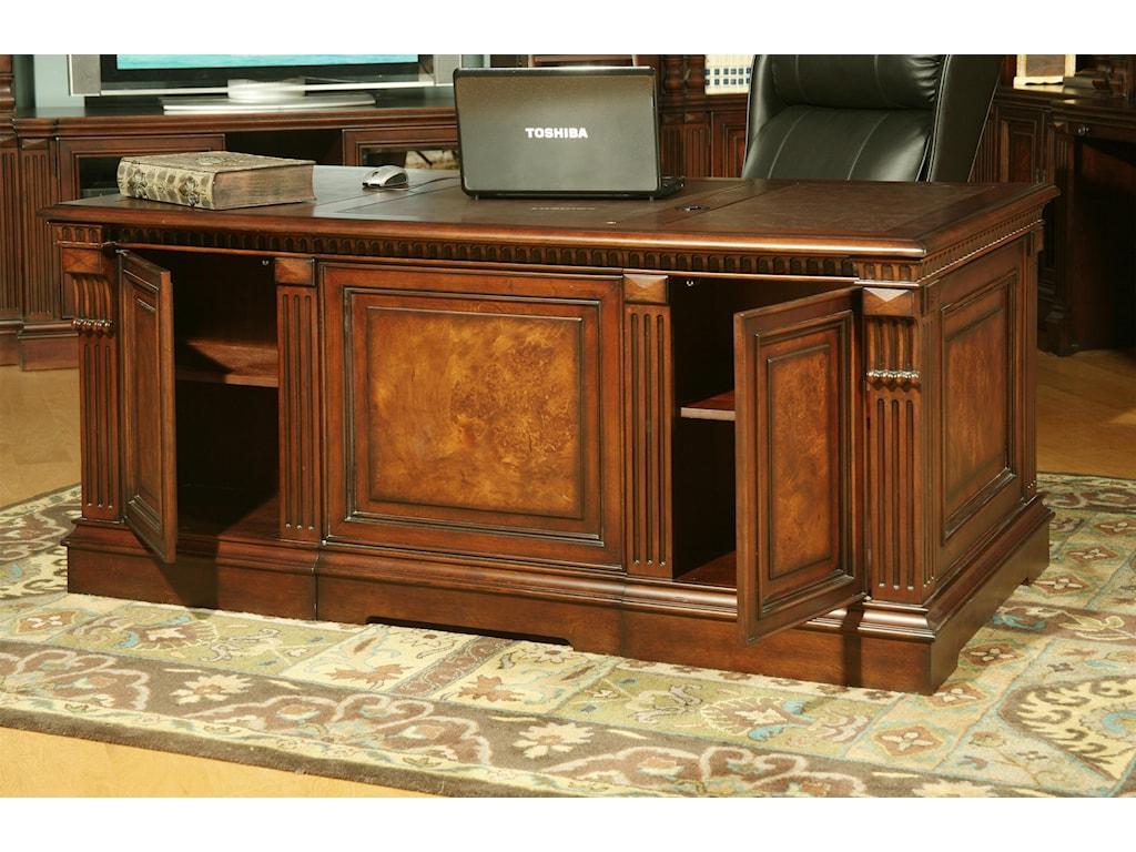 Parker House CorsicaDouble Pedestal Executive Desk
