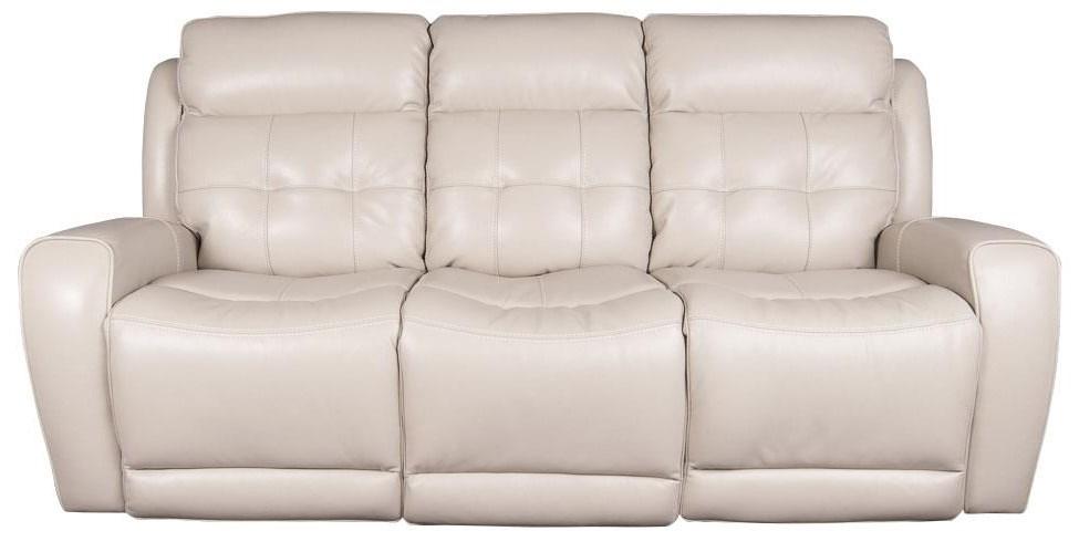 Dorsey Dorsey Leather Match Power Reclining Sofa