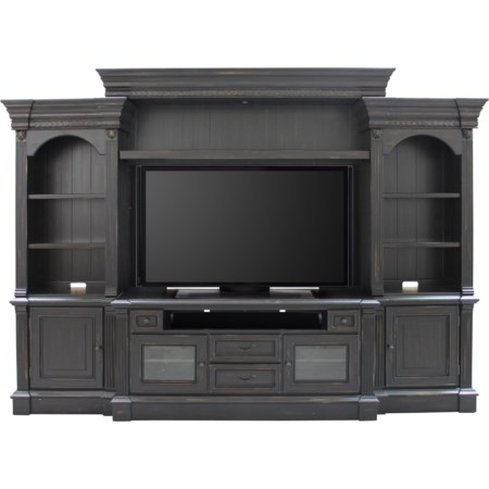 4 Piece Entertainment Wall