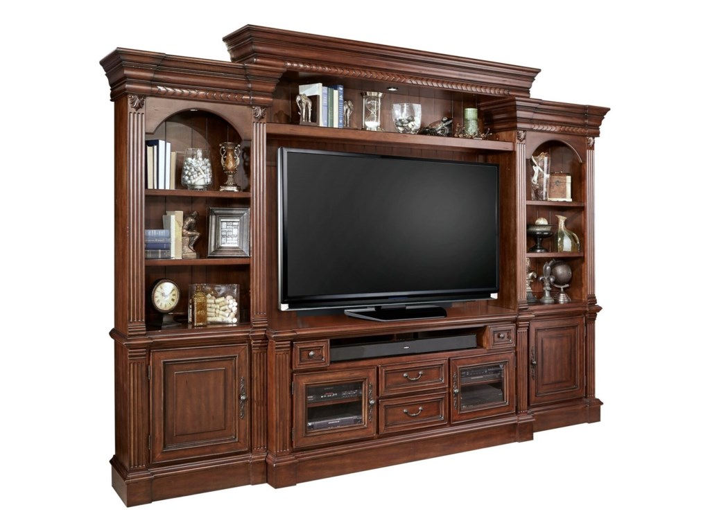 Parker House Franklin4 Piece Entertainment Wall