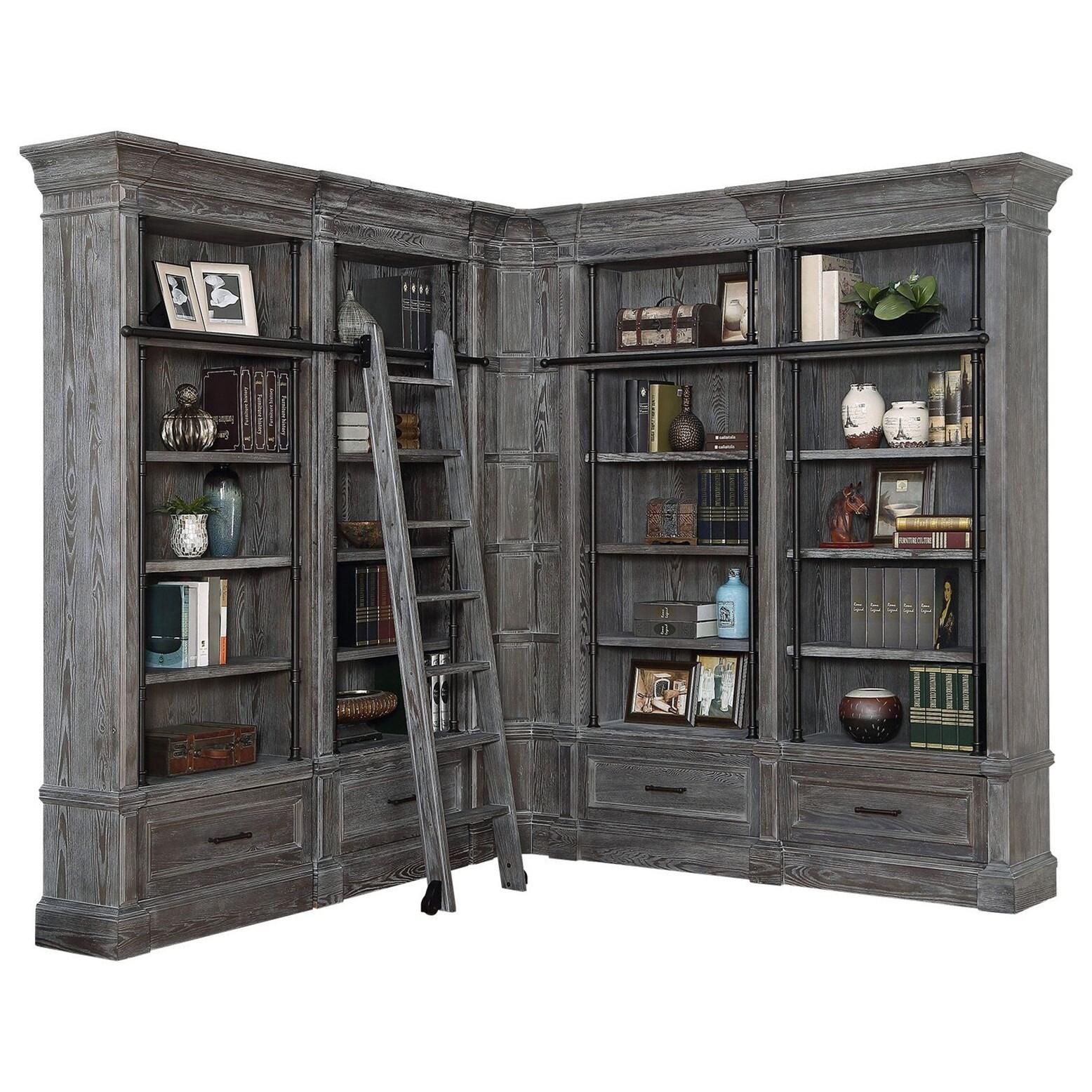 Parker House Gramercy Park6 Piece Museum Bookcase Unit ...