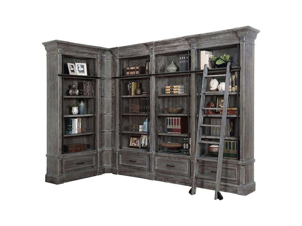 Parker House Gramercy Park6 Piece Museum Bookcase Unit