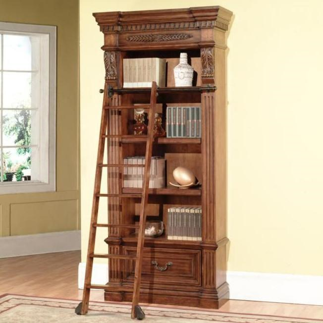 Parker House Granada Museum Bookcase With 1 Drawer And 4