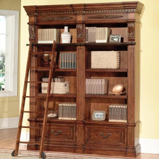 Granada 2 Bookcases And Ladder