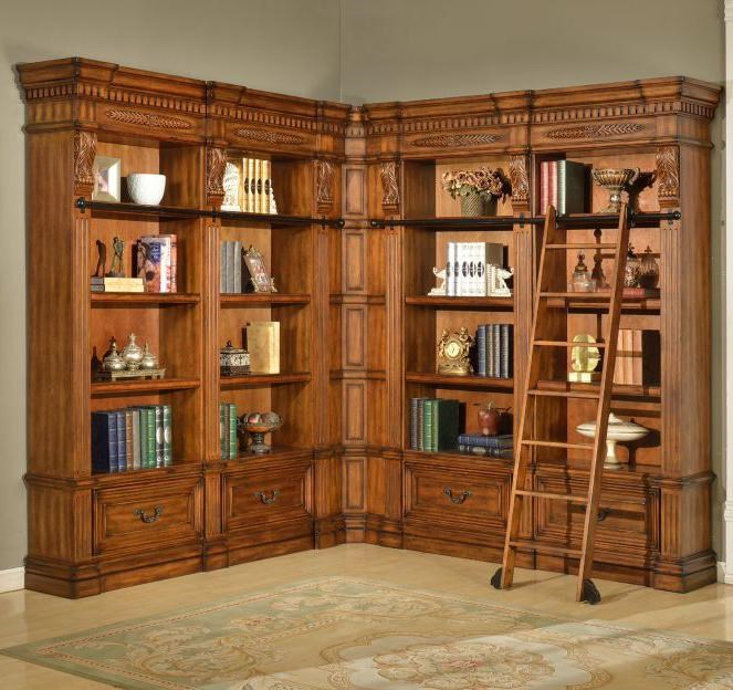 Bookcase Can Also Be Arranged into Symmetrical Formation