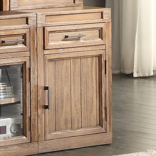 Parker House Hickory Creek Cabinet with Hidden Felt-lined Storage