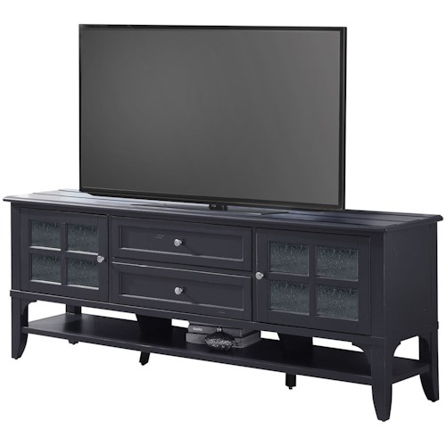 Parker House Hamilton Transitional 76 in. TV Console