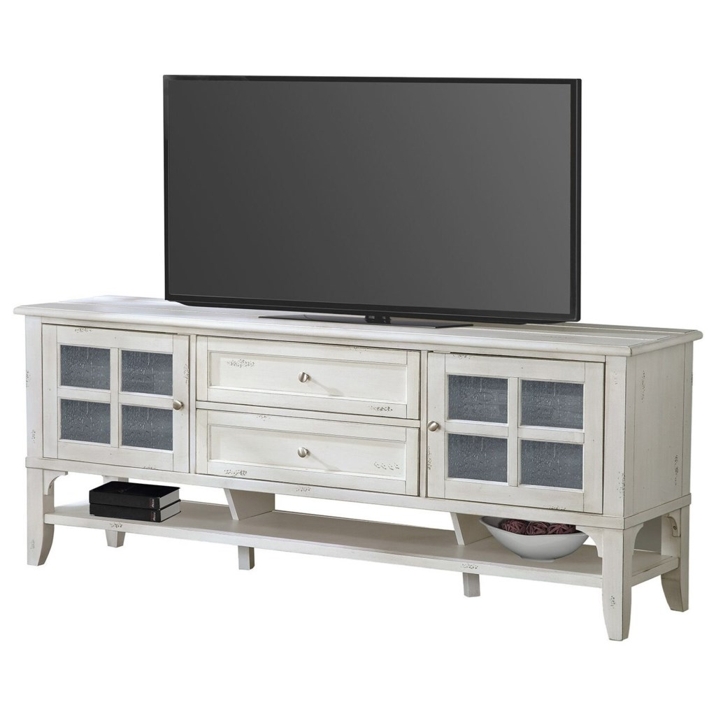 Parker House Hilton Casual 76 In Tv Console Wayside Furniture