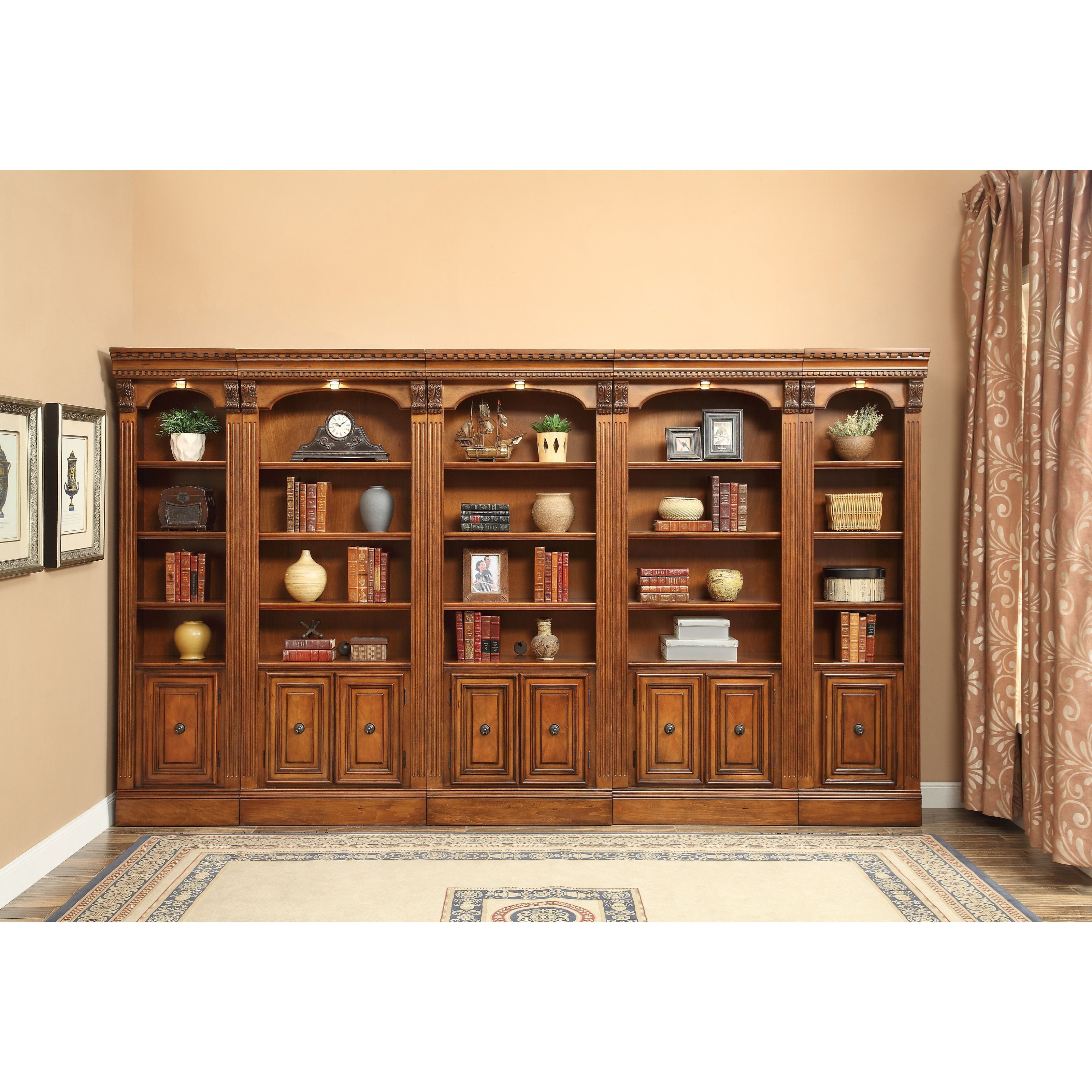 Parker House Huntington Wall Unit Bookcase Howell