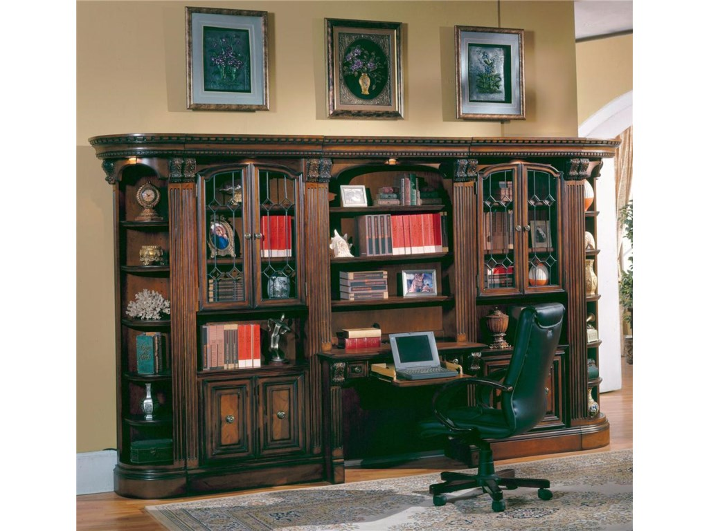 Parker House HuntingtonLarge Wall Desk and Hutch
