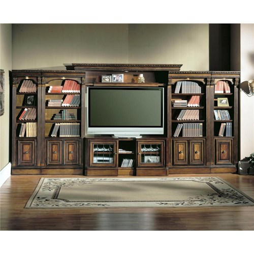 Parker House Huntington Large Entertainment Center Wall Unit