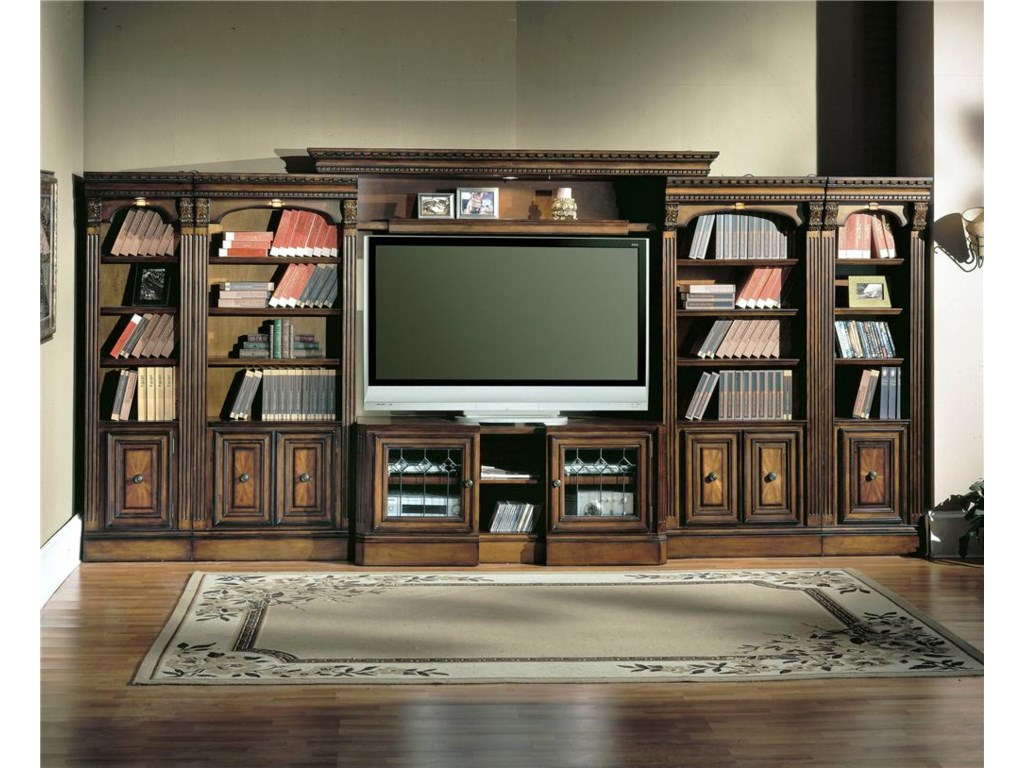 Parker House Huntingtonlarge Bookcase Entertainment Center