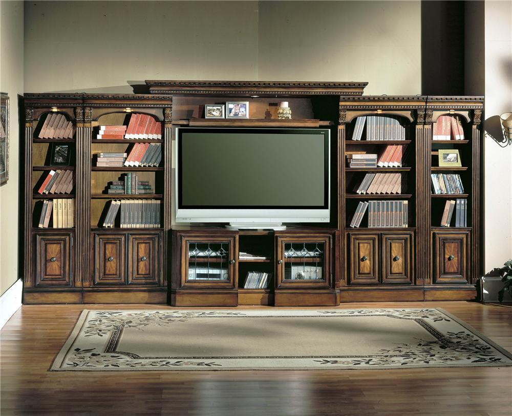Parker House HuntingtonLarge Bookcase Entertainment Center ...