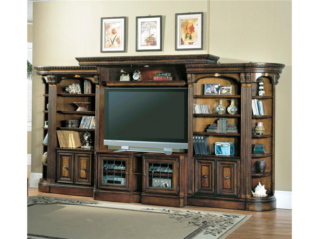 piece adjustable center knotty entertainment stuff shelves centers p bookshelf and alder bookshelves w dsc