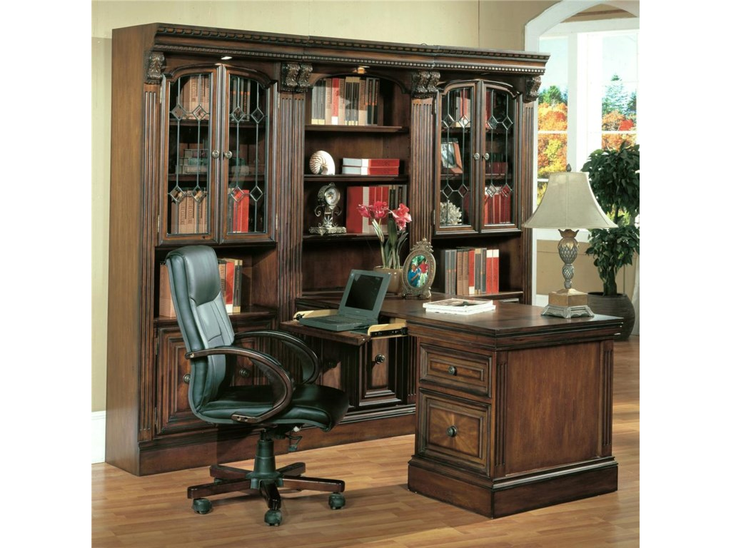 Parker House Huntington2 Piece Peninsula Desk