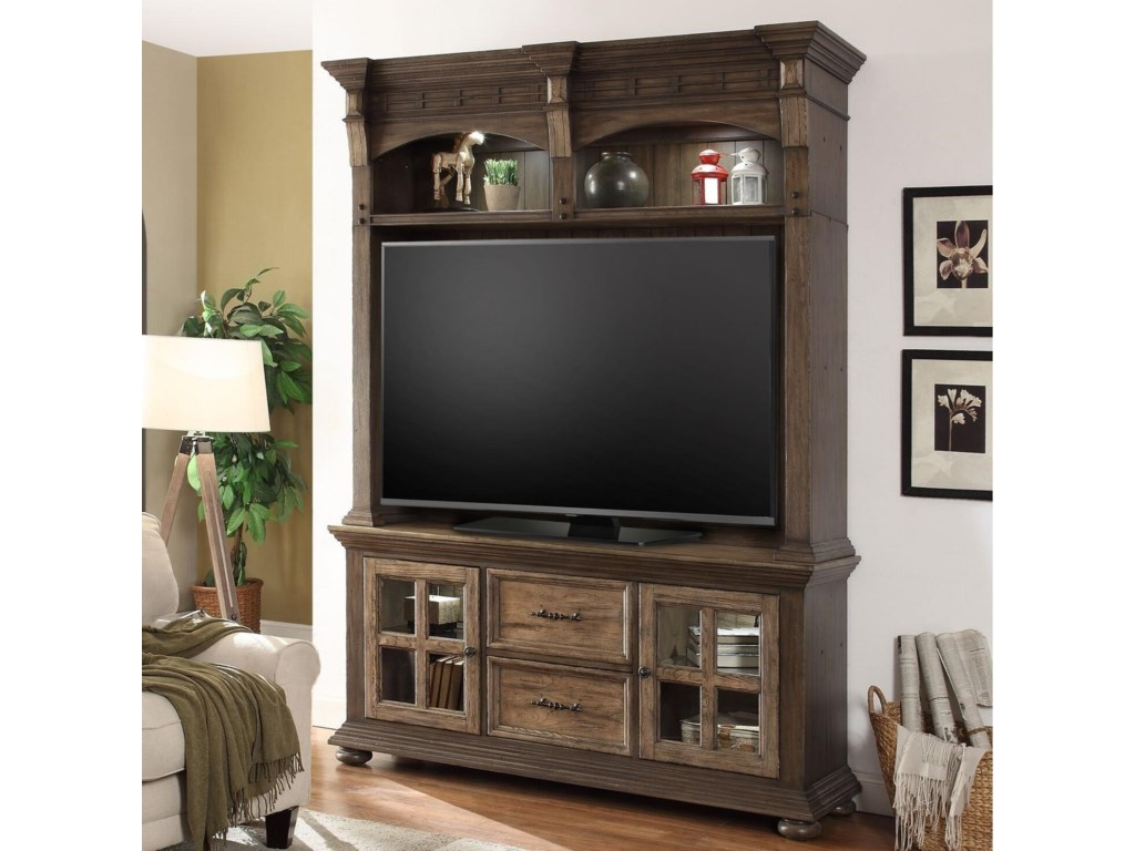 Parker House LaredoEntertainment Console and Hutch