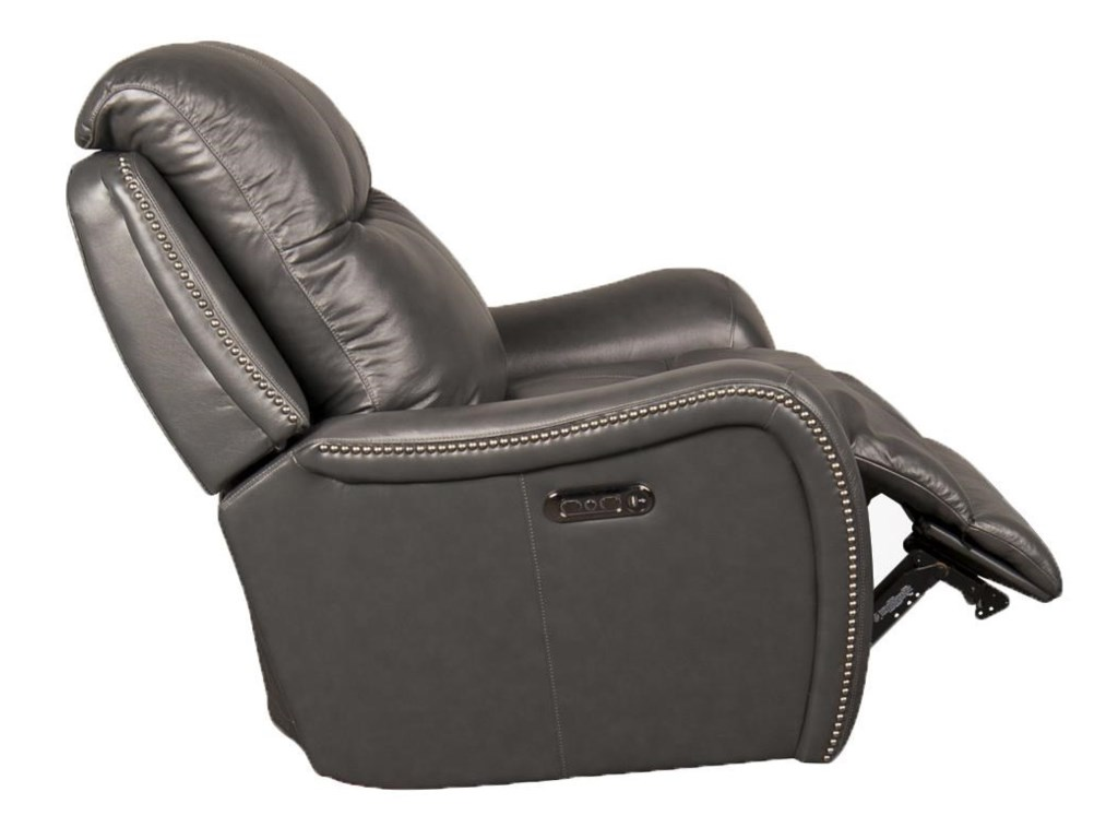 Parker Scott MarleyMarley Leather Match Power Recliner