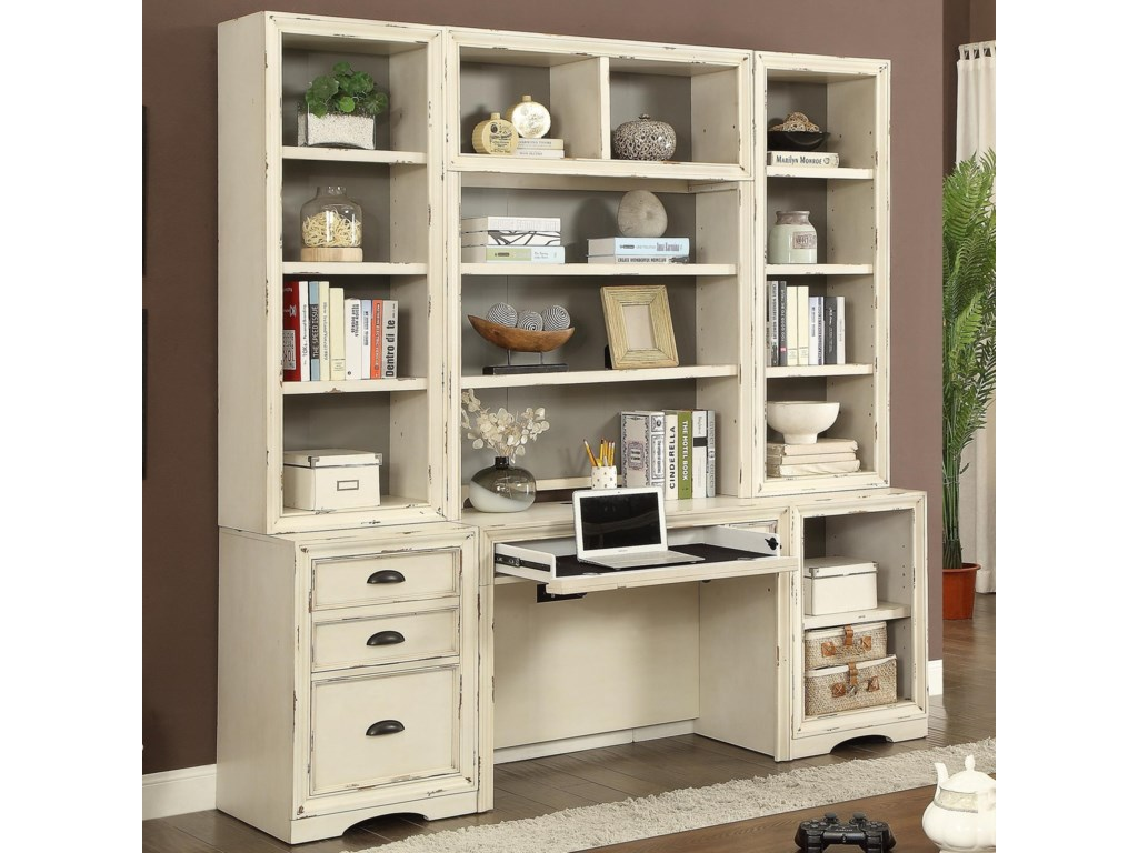 Parker House Nantucket6 Piece Home Office Wall